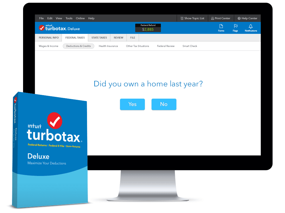 TurboTax Deluxe Free Download Latest Version for Windows. It is full offline installer standalone setup of TurboTax Deluxe TurboTax Deluxe is handy and very easy to use application which can be used for completing the forms of your approximate tax return. Filling the tax form is a.