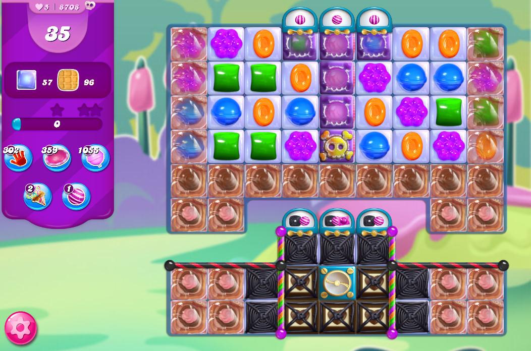 Candy Crush Saga level 8708