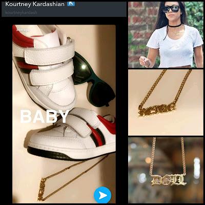 Kourtney Kardashian Baby Snapchat