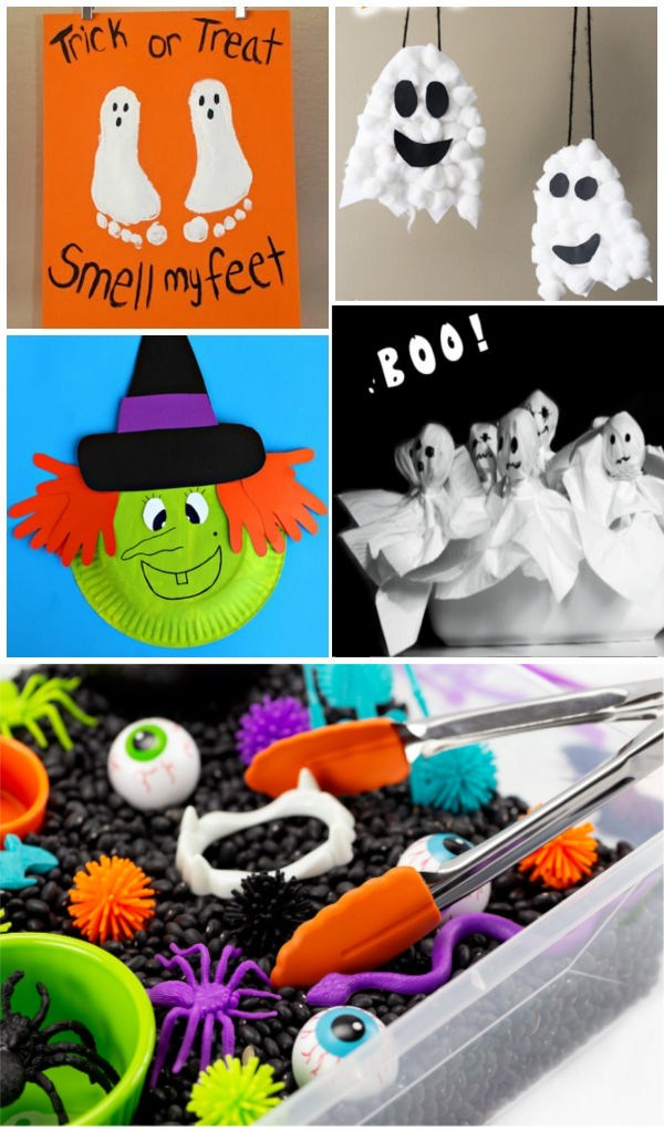 Fun & creative Halloween activities for kids #halloween #halloweencrafts #halloweenactivitiesforkids #growingajeweledrose