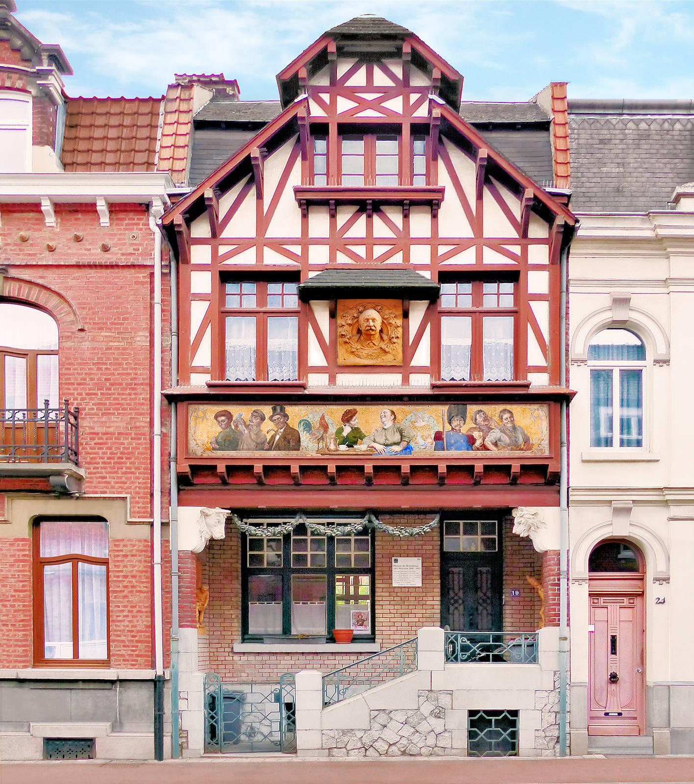 Maison du Broutteux - rue Hules Watteeuw, Tourcoing