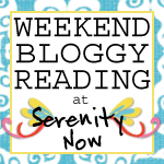 http://www.serenitynowblog.com/2014/01/weekend-bloggy-reading-link-up_10.html?utm_source=feedburner&utm_medium=feed&utm_campaign=Feed%3A+SerenityNow-aMommysSolutionToStayingSane+%28Serenity+Now-A+Mommy%27s+Solution+to+Staying+Sane%29