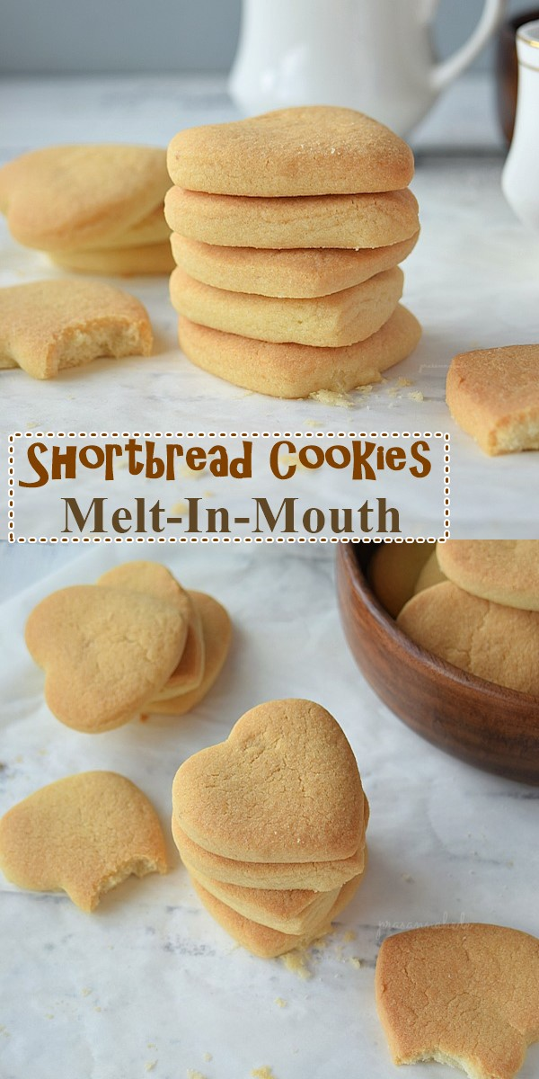 Shortbread Cookies (Melt-In-Mouth) #Cookiesrecipes