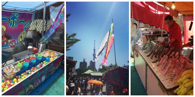 Childrens day at Sensoji Temple in Tokyo