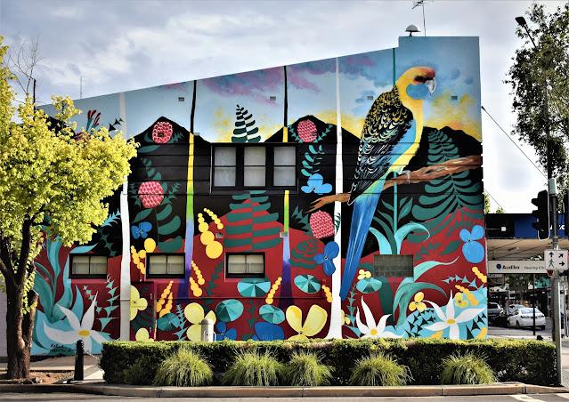Street Art in Wagga Wagga by David Cragg