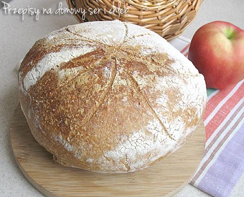 Chleb pszenno - żytni (wyrastający w lodówce)