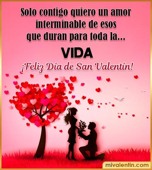 imágenes con frases para san Valentín