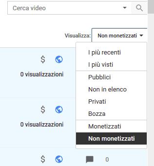 Come monetizzare video youtube vecchi