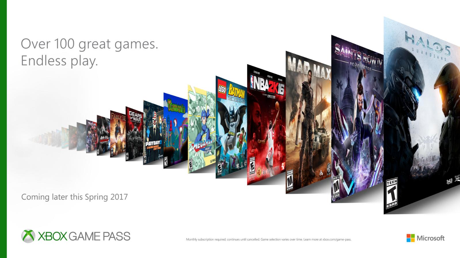 Xbox sorprende con Xbox Access, ¡más de 100 títulos de ONE a 9,99 euros al mes!