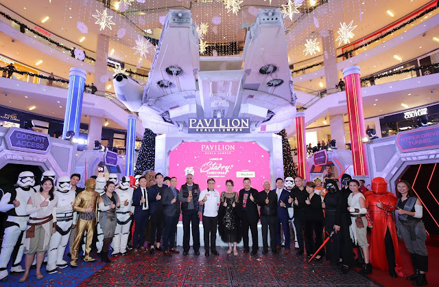 PAVILION KL BAWA 'A STARRY CHRISTMAS' @ 'STAR WARS'