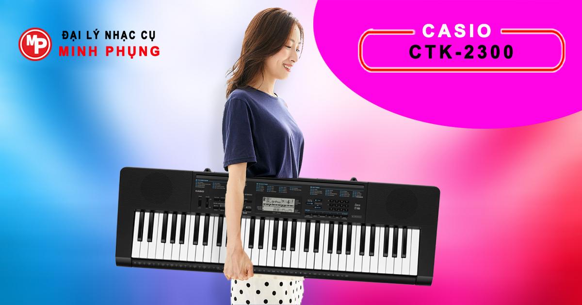 Đàn Organ Casio CTK-2300