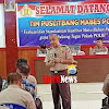 Tim Puslitbang Mabes Polri Lakukan Penelitian dan Standarisasi  Kualitas Pakaian PDH di Polres Gowa