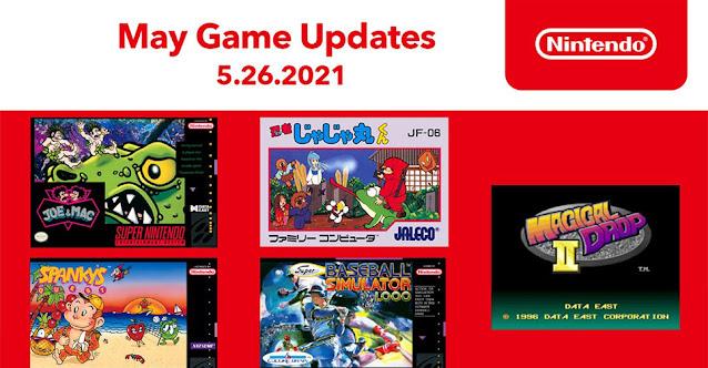 Novos jogos de NES e SNES são anunciados para o Nintendo Switch Online (maio de 2021)