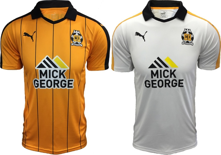 Puma lança as novas camisas do Cambridge United - Show de Camisas 5175e28bc5224
