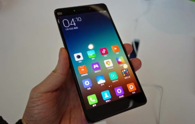 Xiaomi Mi Note Pro cor preta
