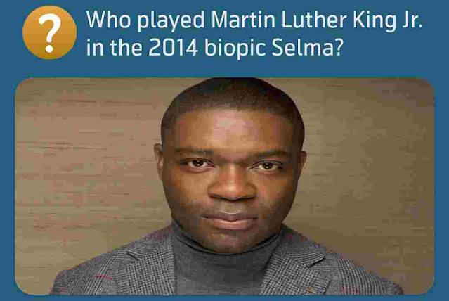 Who played Martin Luther King Jr. in the 2014 biopic Selma?
