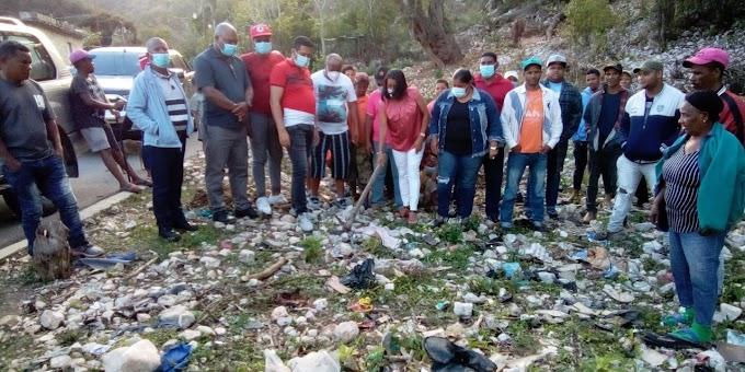 Polo: Alcaldesa Danilsa Cuevas inicia construcción de cancha en la comunidad de los Arroyos Arriba