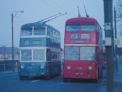 Manchester trolleybuses