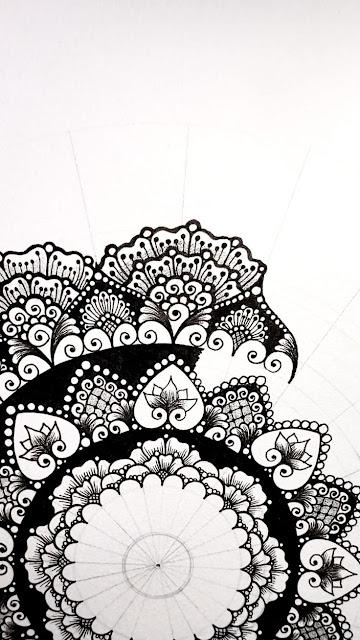 Video Dạy vẽ tay hoa văn nghệ thuật