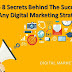 Top 8 Secrets Behind The Success Of Any Digital Marketing Strategy