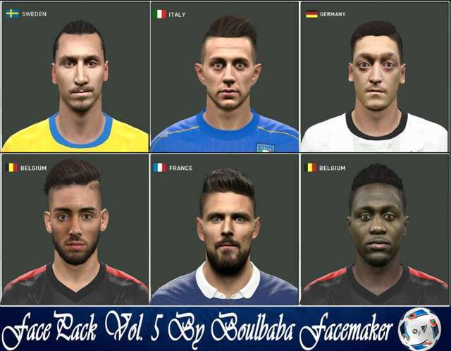 PES 2016 Facepack Update