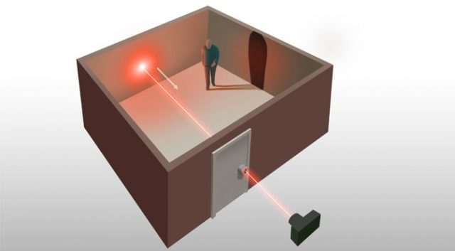 Scientists have learned to look through walls with a laser