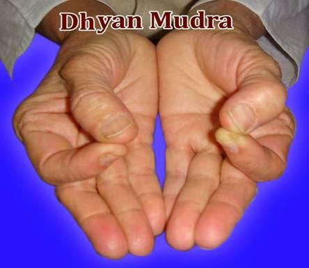 DHYAN MUDRA
