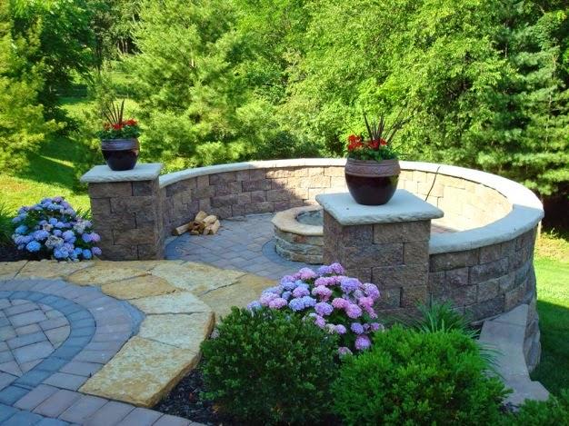 The Allan Block Blog Backyard Design Ideas Raised Patio Vs Wood