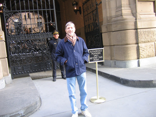 Standing in Front of the Dakota, NYC