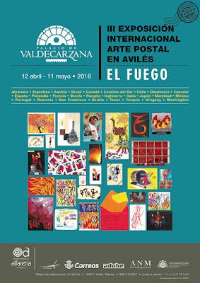 cartel, exposición, arte postal, mail art, Avilés
