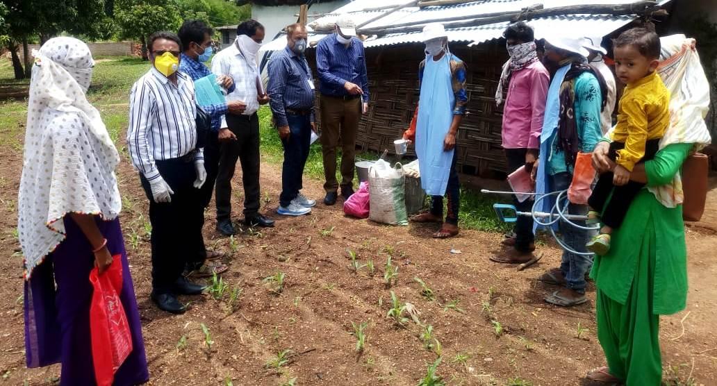 Alirajpur News- संभागीय अधिकारियों ने किया निरीक्षण, दिये आवश्यक दिशा निर्देश