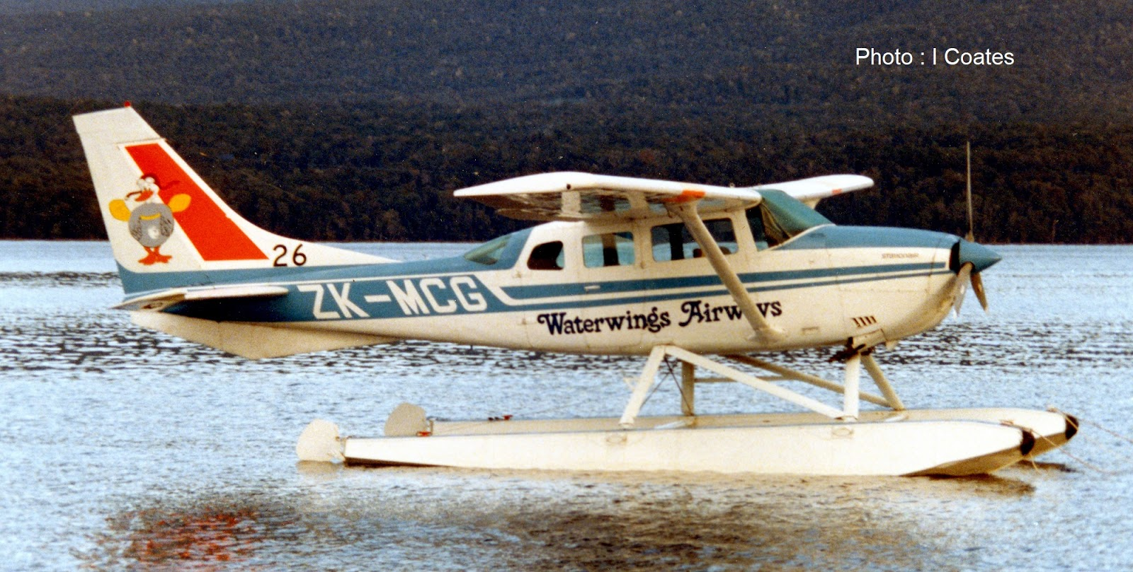 3rd Level New Zealand: Waterwings Airways and its Milford Sound