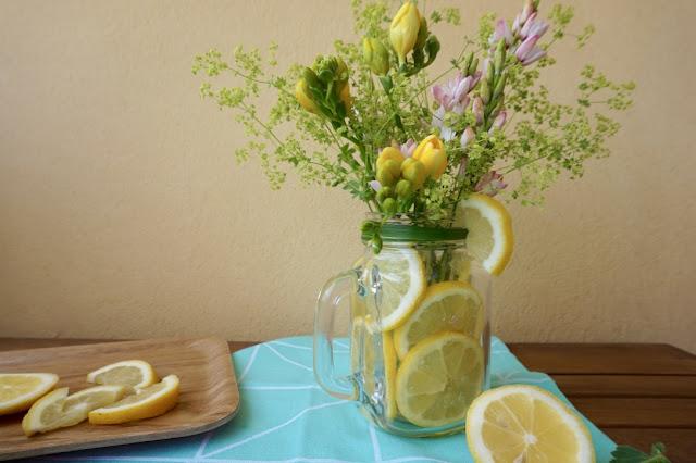 Projet DIY : Fleur et citron