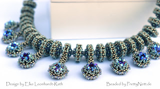 "Necklace ""Picolo Rondo"" beaded by PrettyNett.de"