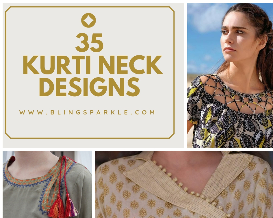 Latest Kurti Neck Designs Trendy Neck Patterns To Try In 2018 2019 Bling Sparkle