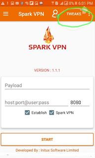 MTN Free Browsing Cheat Now Blazing On Spark VPN 2018