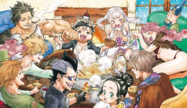 Daftar Nama Anggota Black Bull dalam Anime Black Clover
