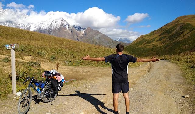 велопоход по Верхней Сванетии, перевал Загар