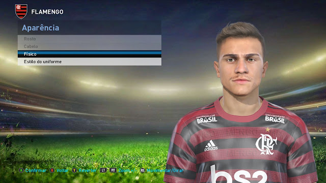 PES 2020 - PES 2019 Reinier Face by Lucas Facemaker