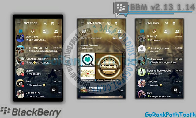 download BBM Mod Transparent Theme GoRankPathTooth Apk Versi 2.13.1.14
