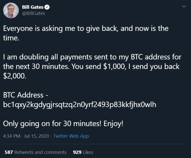 Bill Gates Scam