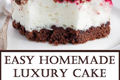 Easy Homemade Luxury Cake
