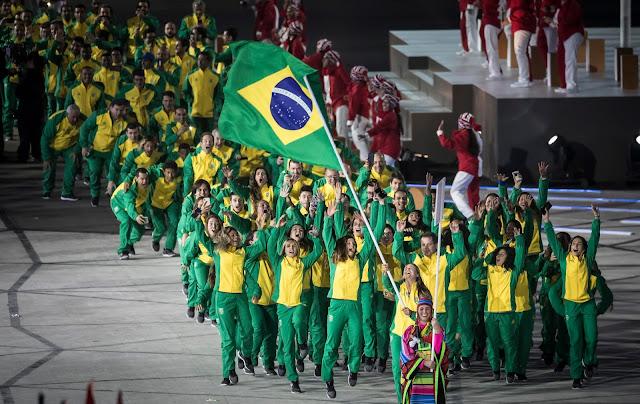 Brasil na Cerimônia de Abertura no Pan de Lima