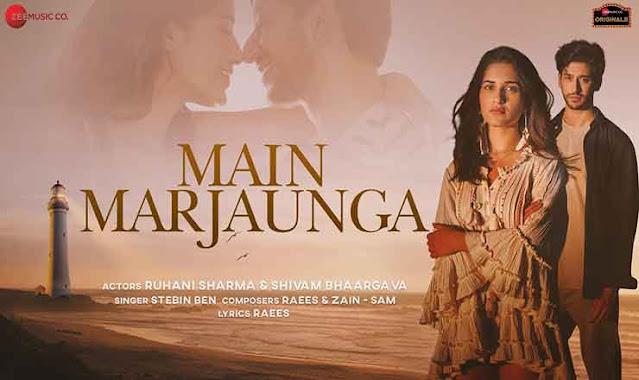 Main Marjaunga Hindi Lyrics – Stebin Ben