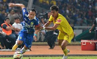 Atep dan Febri Bawa Persib Menang 2-0 atas Sriwijaya FC