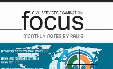 Raus IAS Focus Magazine July 2020 PDF