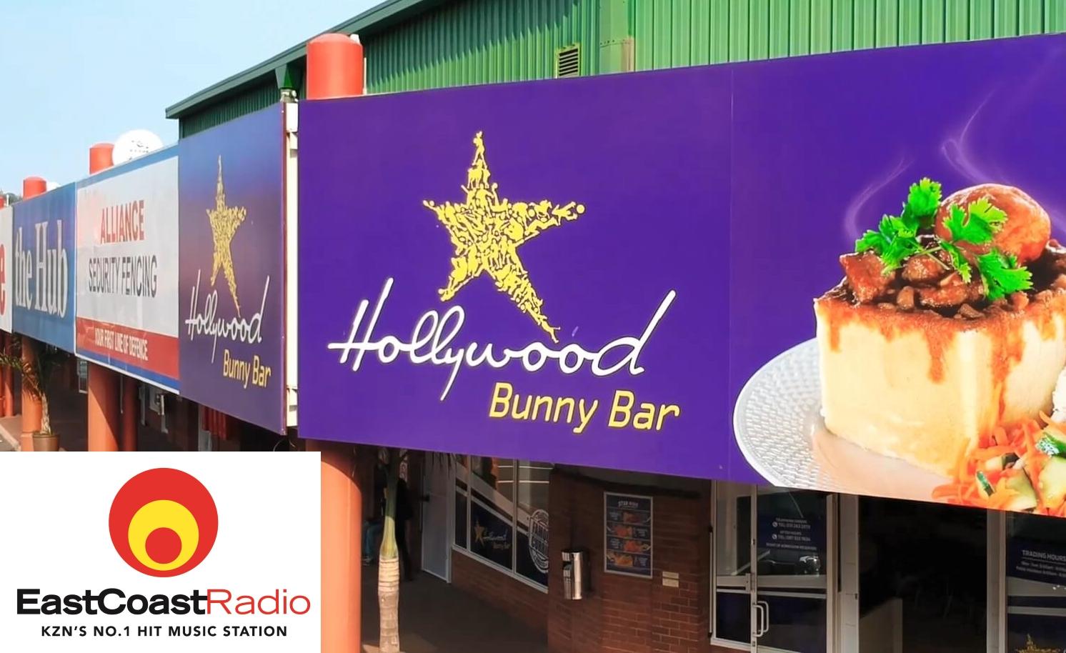 Hollywood Bunny Bar and East Coast Radio at the Springfield Retail Centre