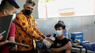 Wali Kota Medan Bobby Nasution Apresiasi Yayasan Sikh Sewaks Indonesia Gelar Vaksinasi