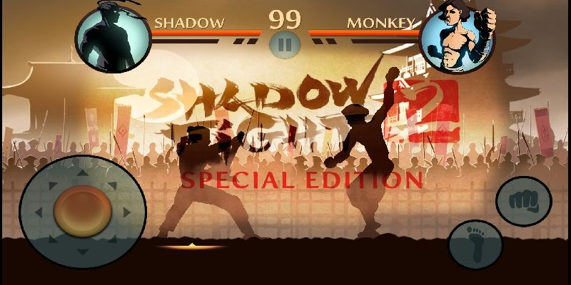Shadow fight 2 special edition game screenshot