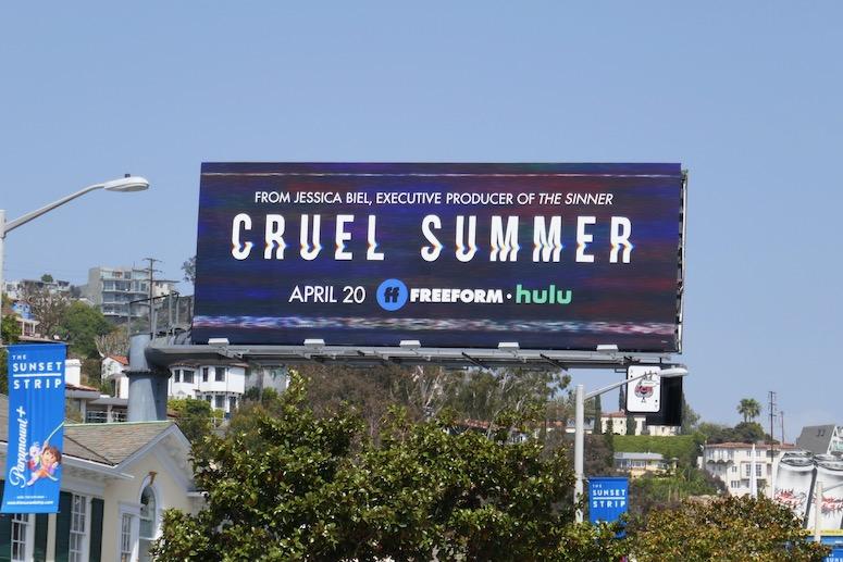 Cruel Summer Freeform billboard